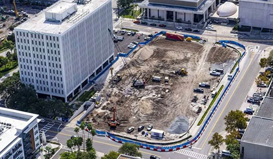 DenholtzRepresented the seller on a 2.02 acre surface parking lot that surrounds the Tampa Bay Times building in the heart of Downtown Tampa. It sold to a leading multifamily developer who announced plans for Modera Tampa, a 353-unit luxury mixed-use apartment community.