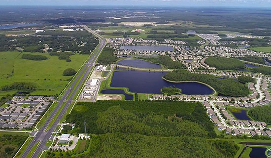 LeDanteck22-acre commercial site located on State Road 54 at the entrance of the Ballantrae Community, in Lutz, sold for  $2,400,000. The Buyer has plans to build 120,000 SF of office on the property.
