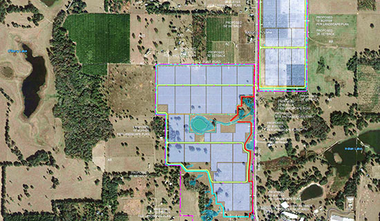 Mountain View Represented (along with Jack Koehler) the Buyer on the assemblage of 317 acres of pastureland and citrus groves along Blanton Road in Dade City. The property is set to become TECO's Mountain View solar project.
